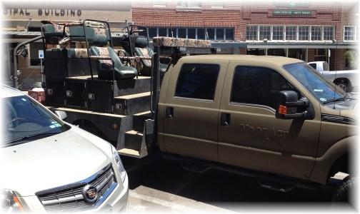 Truck in Kingsville, TX 5/3/14