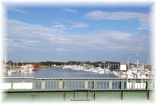 Lewes Delaware harbor