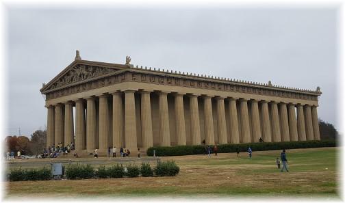 Nashville Parthenon 11/24/16