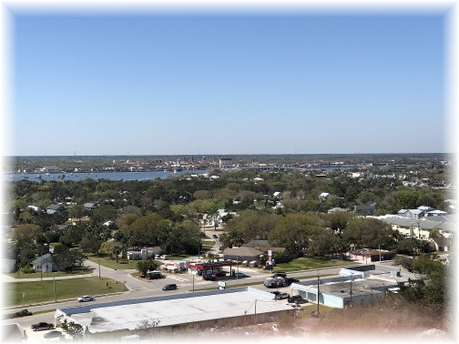 Saint Augustine lighthouse view 3/15/18