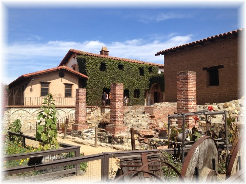 Buildings at Mission San Juan Capistrano