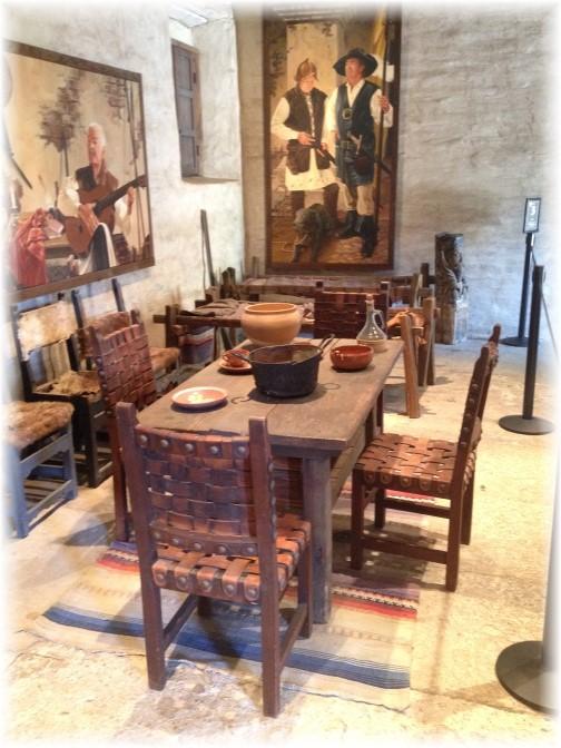 Mission San Juan Capistrano interior