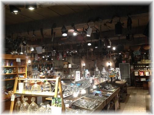 Wheaton Arts general store interior 7/15/14