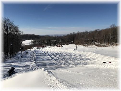 Iron Valley snow tubing 1/7/18