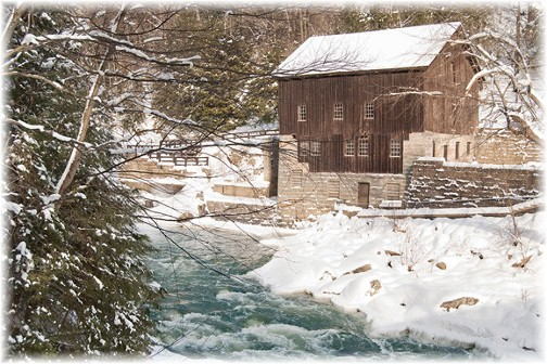 McConnells Mill, Portersrville, PA (photo by Howard Blichfeldt)