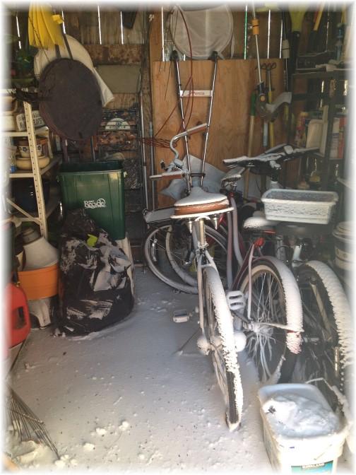 Winter blast 2/15/15 garden shed
