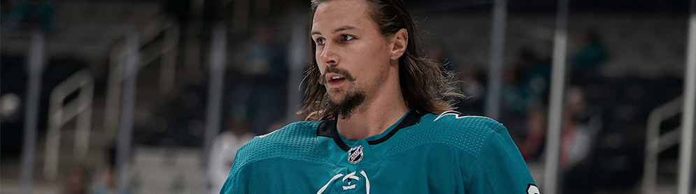 59ab3a02411 Erik Karlsson scores first preseason goal with Sharks - Daily Faceoff