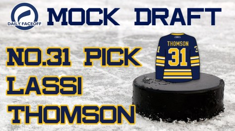 NHL Mock Draft 2019: No.31 — Lassi Thomson