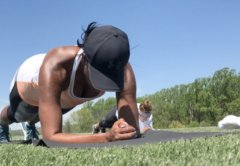 Michelle Obama gives back fitness Bootcamp to the Community