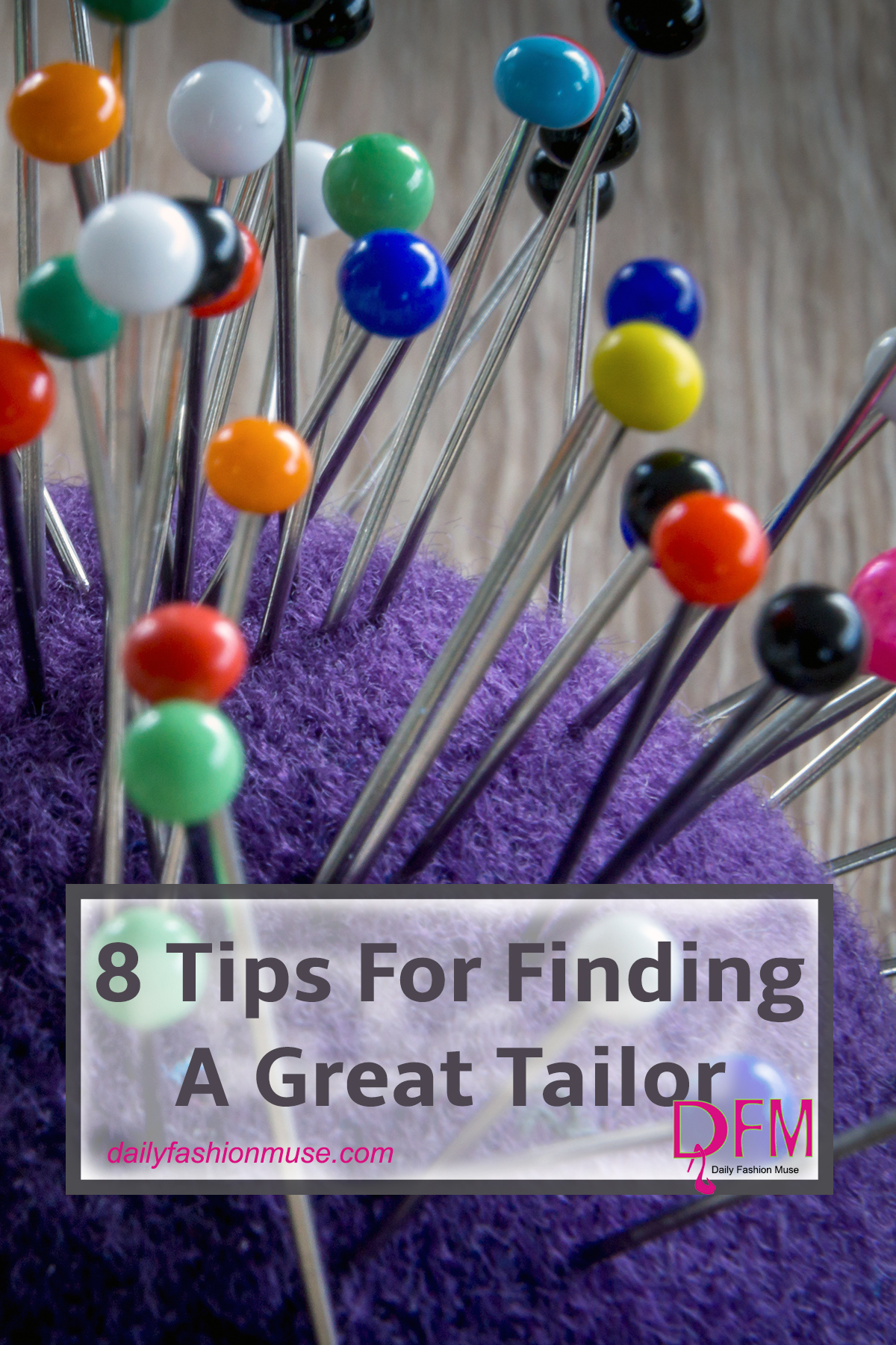 Finding a tailor can be very challenging. Use my 8 tips to make the process of finding a quality tailor a little bit easier. Click to read.