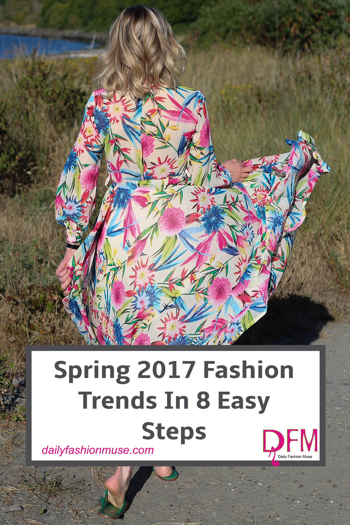 Do the spring 2017 fashion trends have you spinning out of control? Here are 8 easy steps that will keep you stylish and on trend without breaking the bank.