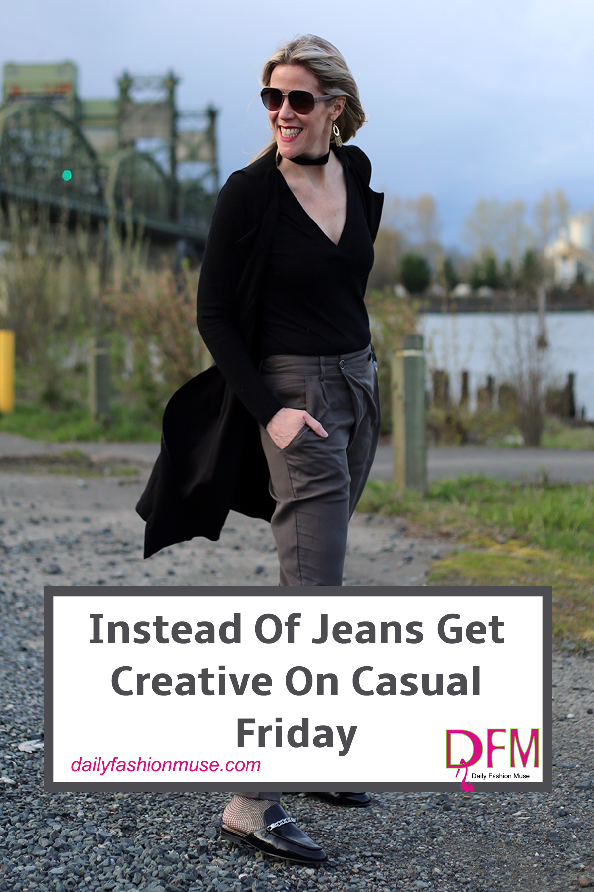 If your office only allows casual outfits on Fridays, instead of reaching for jeans, get a bit more creative. Here is a chance to test out a new style.