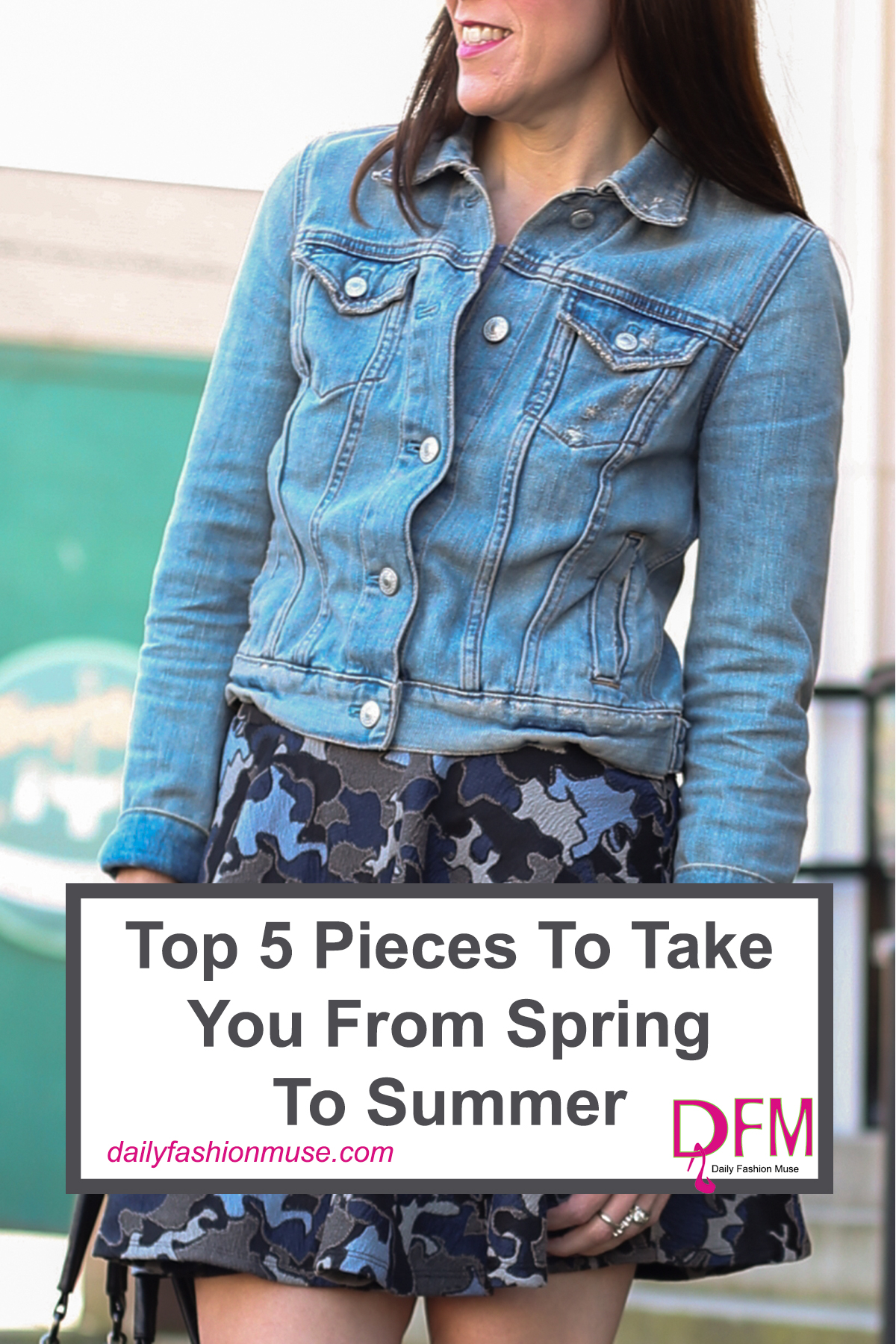 Want to know what the top 5 key pieces will be that will help you transition from spring to summer without skipping a beat? Let me break them down for you. Daily Fashion Muse