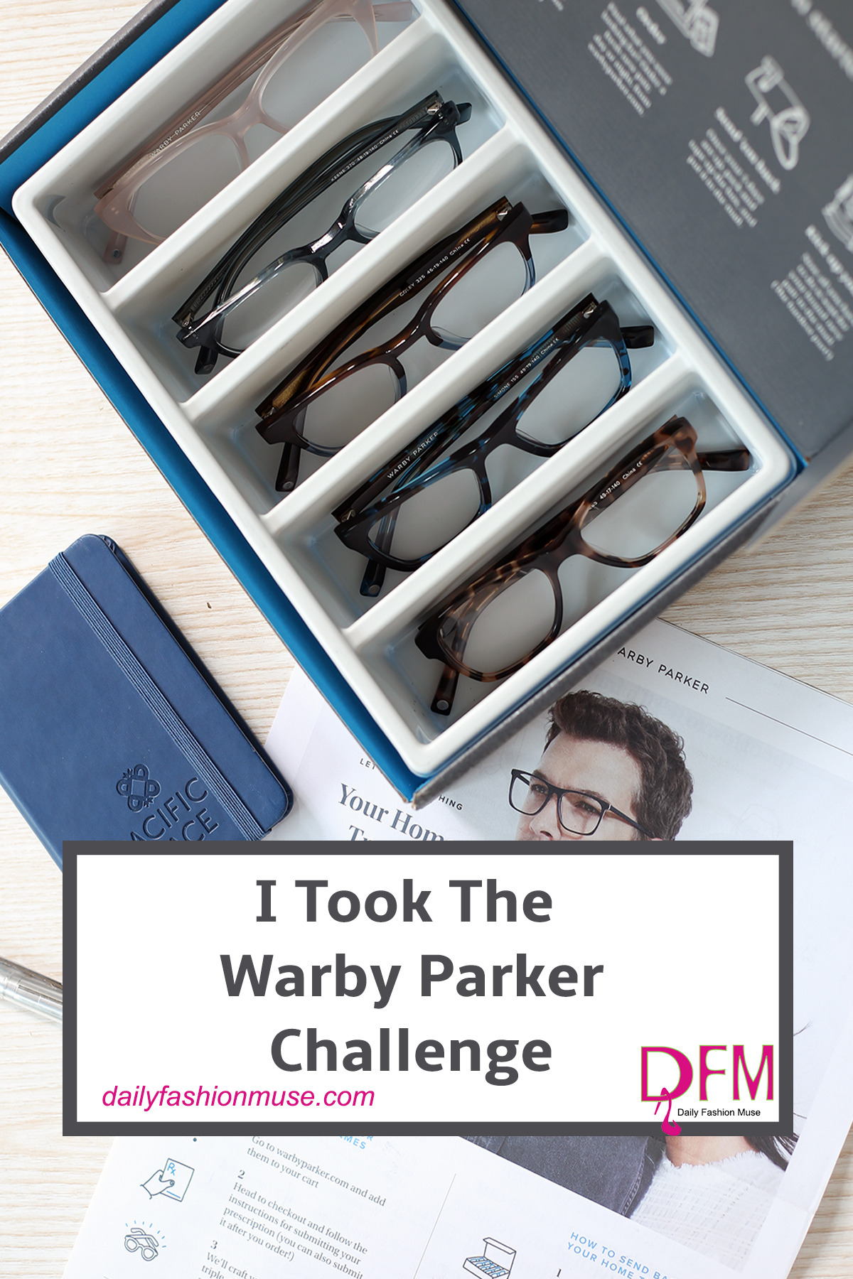 What has five pairs of glasses, five free days of testing styles, and costs $95.00 for a pair of prescription glasses? Warby Parker that's who. See my picks