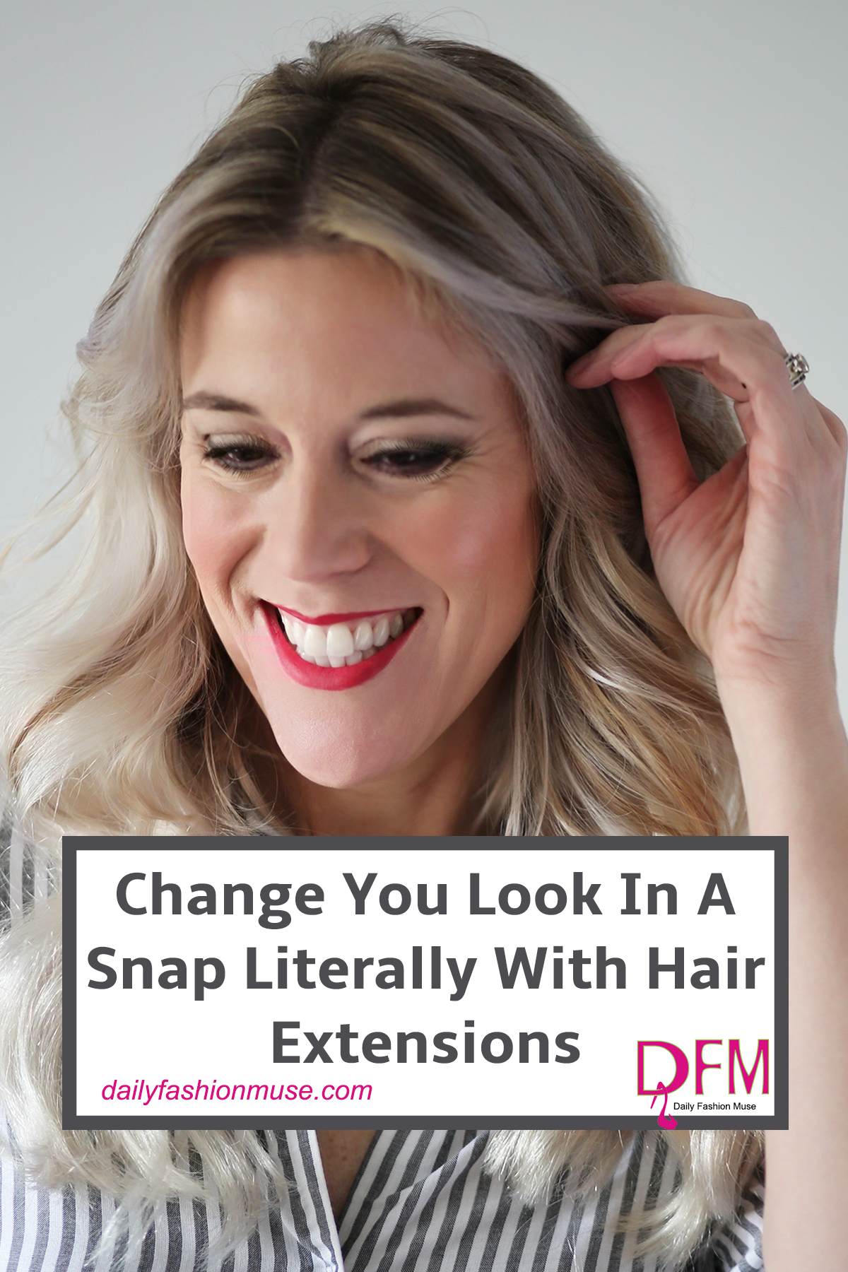 Clip in hair extensions are a fun and easy way to change up your look. They work great for special events, even every day. Click to read my review.