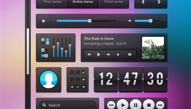 Fashion Music Interface UI Kit