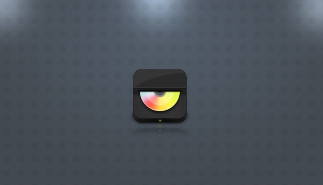 Simple Layered Music Player Icon (psd)