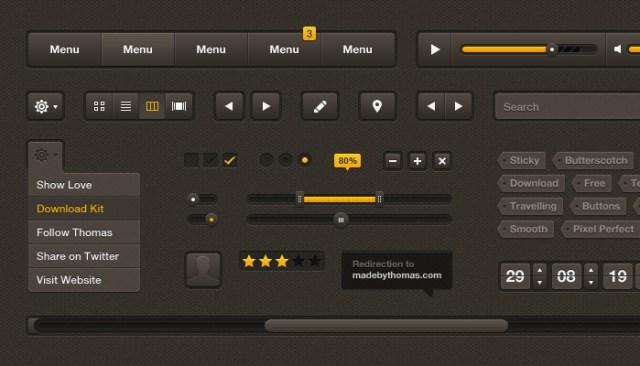 Simple Web Design UI Kit