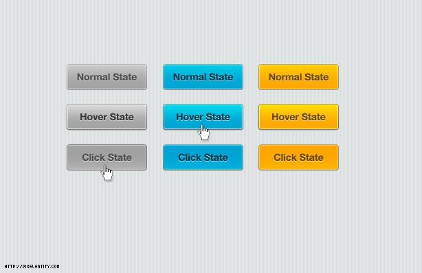 basic web button for designer