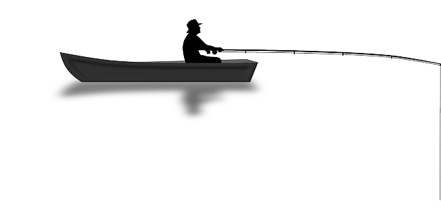 Angler Free Vector-Fishing graphic