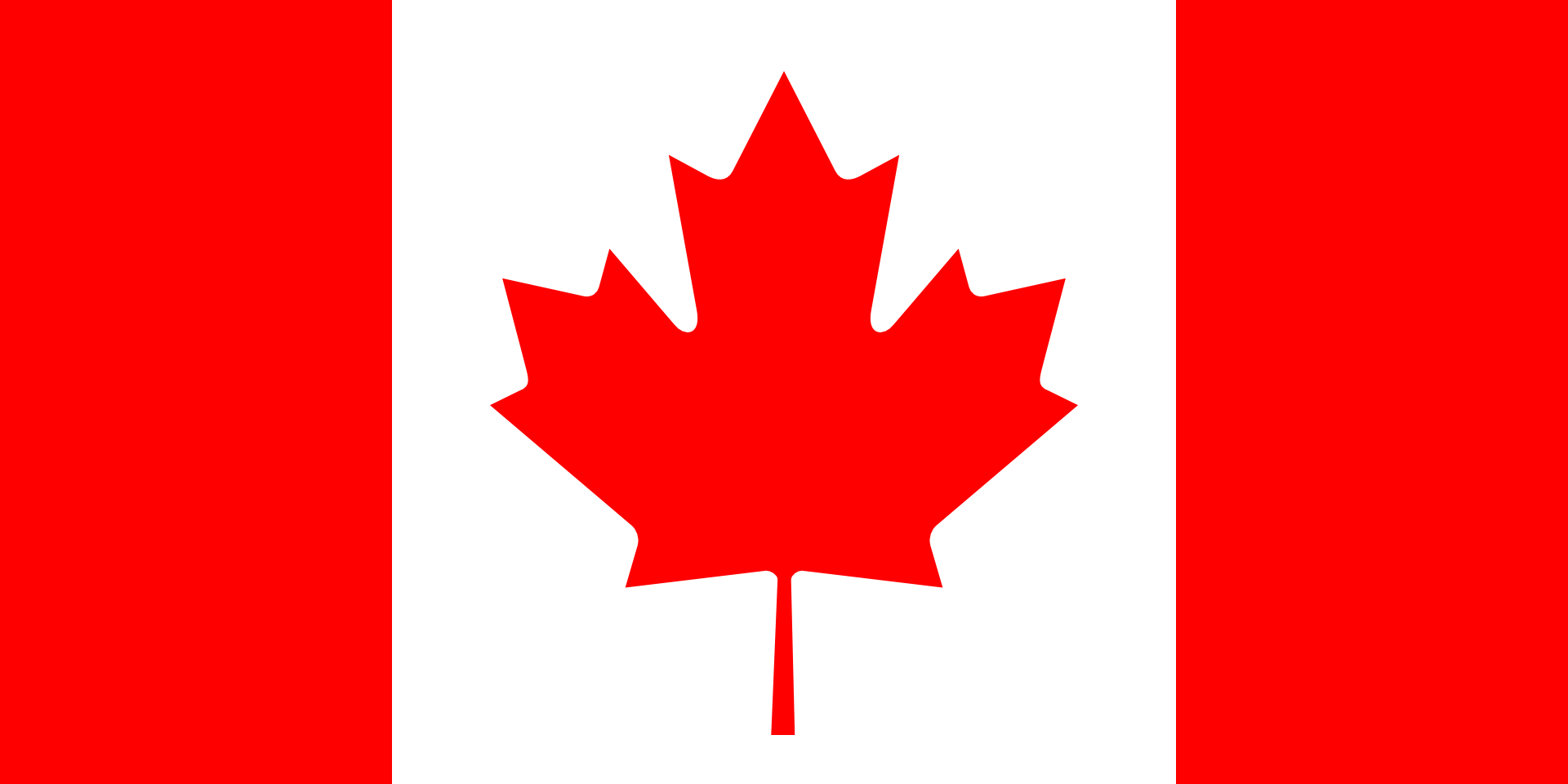 Canada flag-the red maple leaves vector