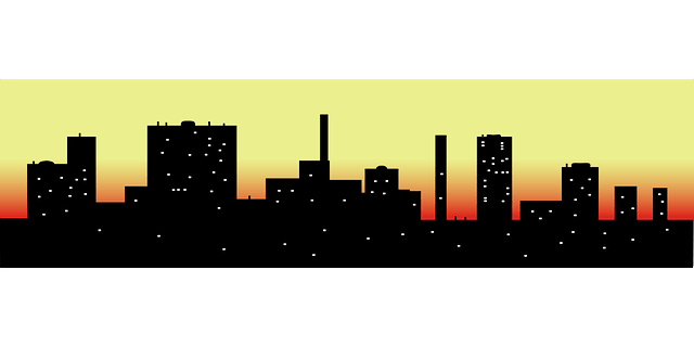 City Night Scenes vector