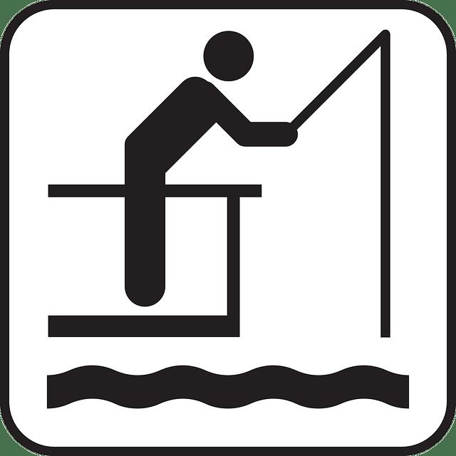 Fishing Symbol Free Vector