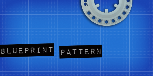 Free blueprint pattern background