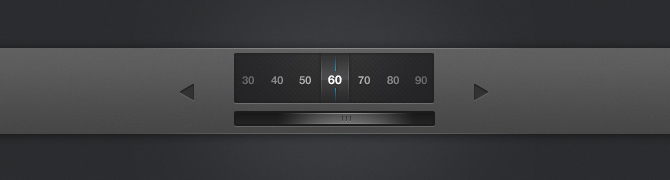 Interface Element For IPad App PSD