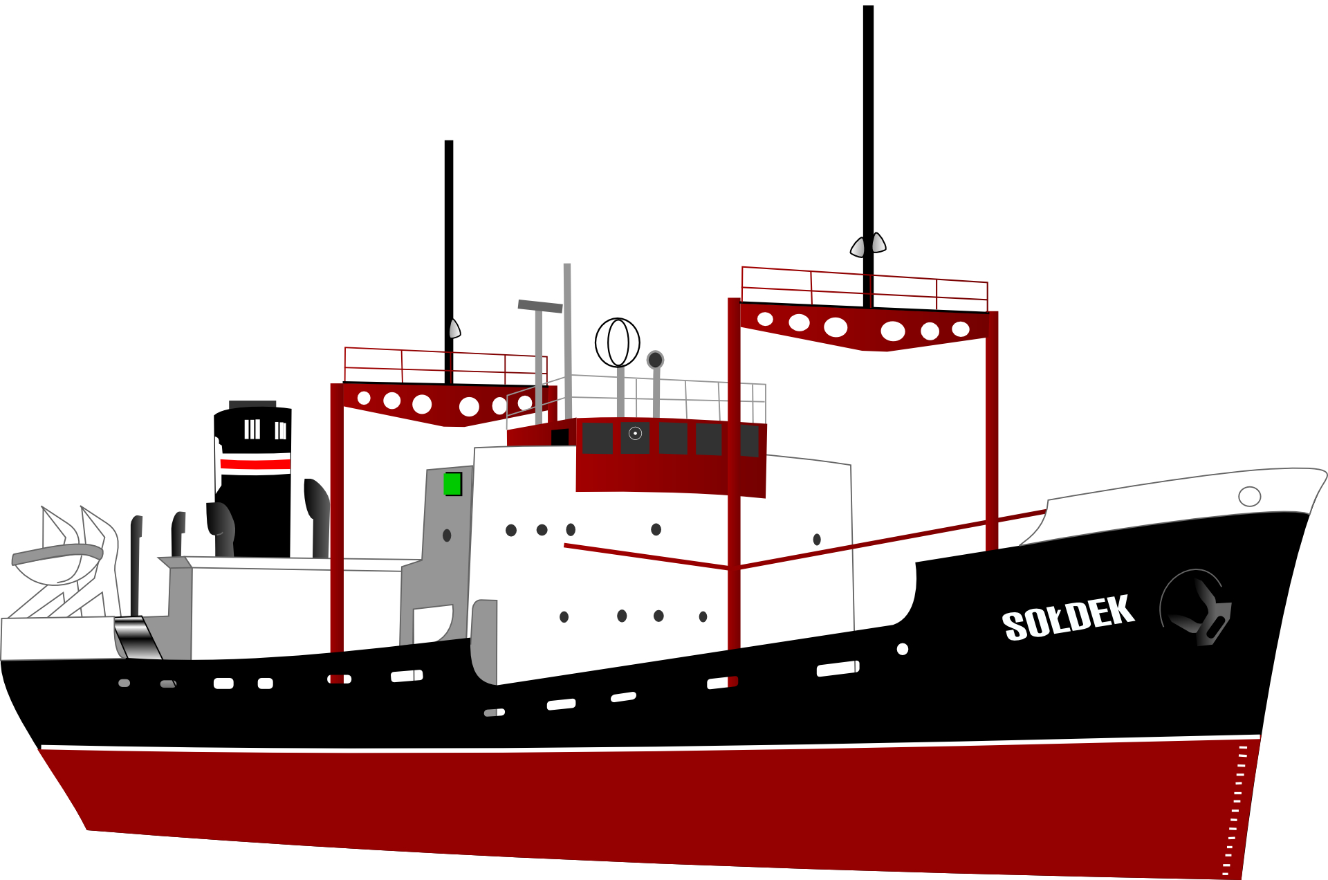 Ocean shipping, container transport,sea containers vector