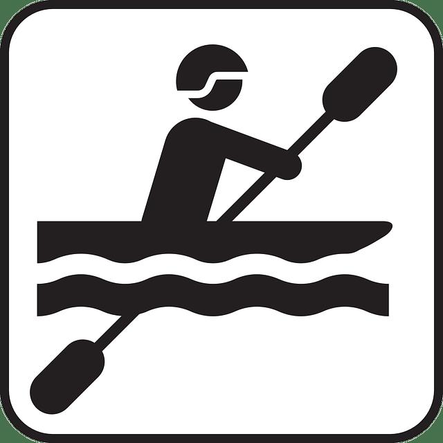 Row Boat Symbol free vector
