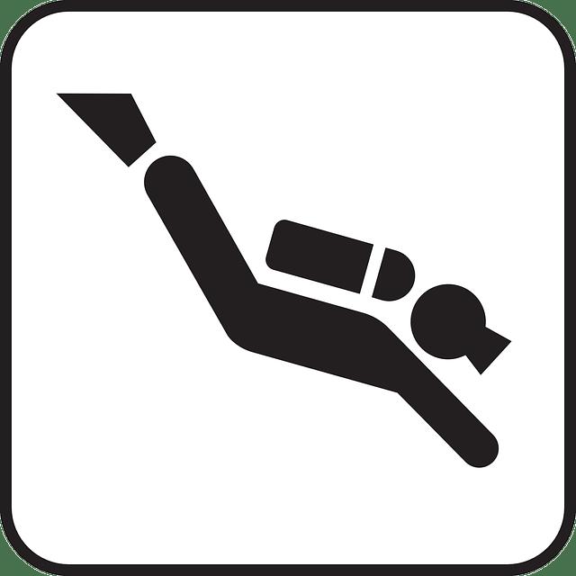 Scuba Diving free vector