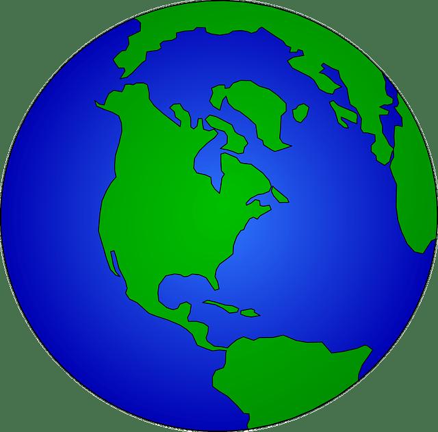 Simple earth vector