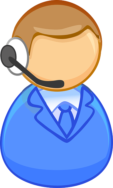 Simple icon of customer service people vector