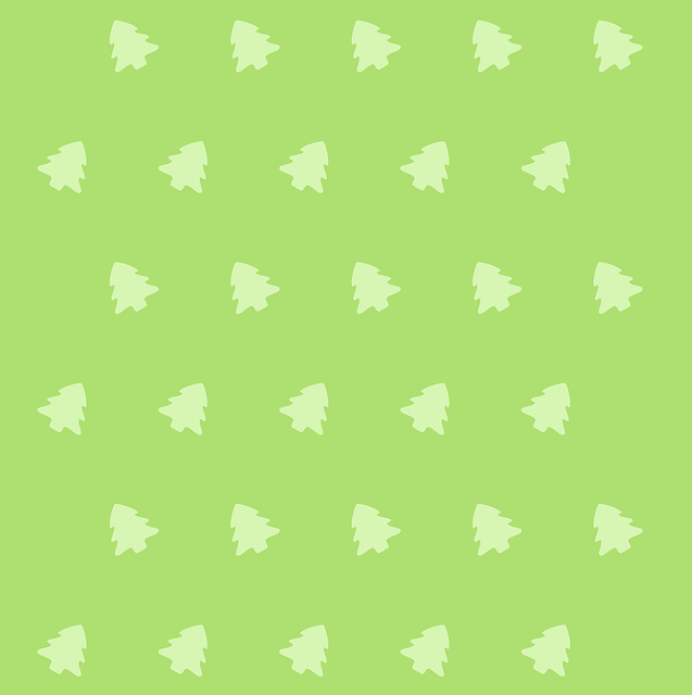 Cartoon green icon pattern vector