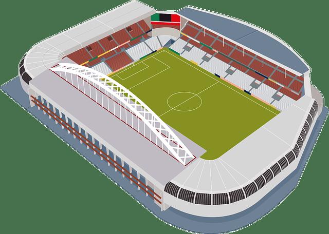 football stadium-san mames free vector