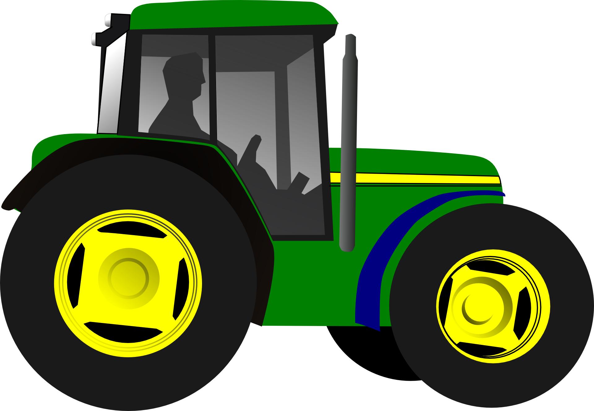 green engineering vehicle vector