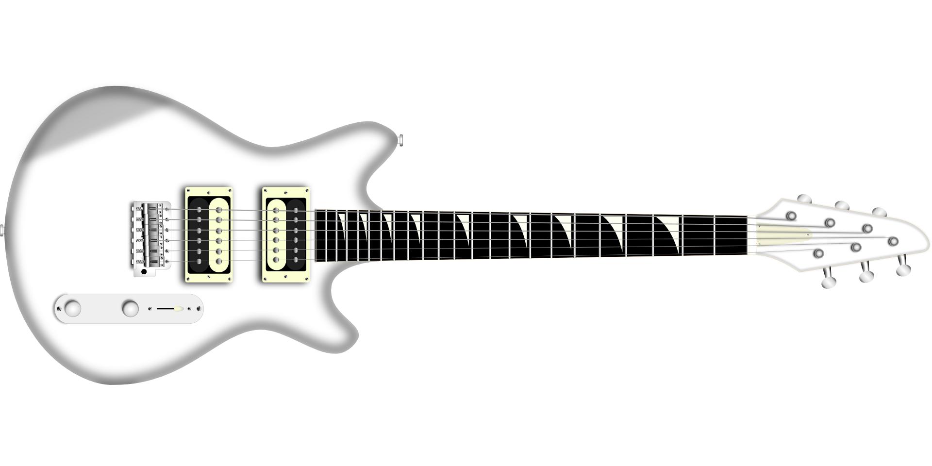 musical instrument - guitar vector