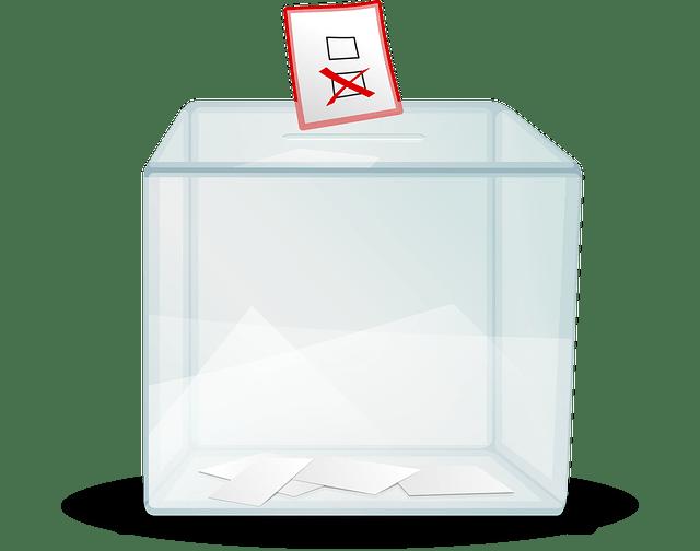 Polls elections-ballot box