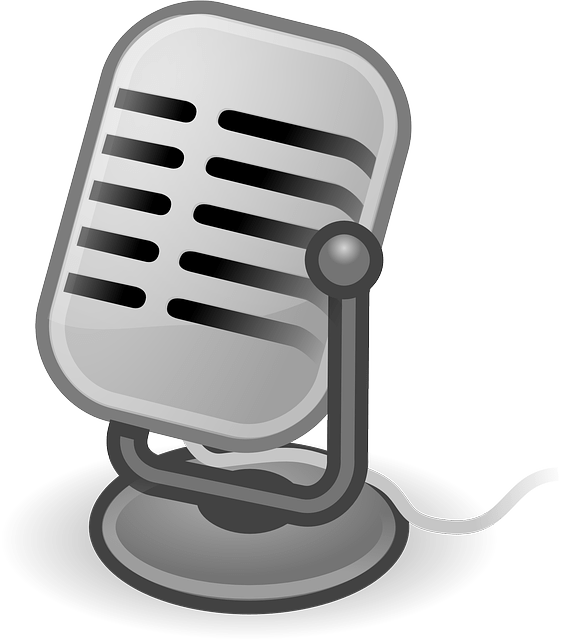 simple microphone vector