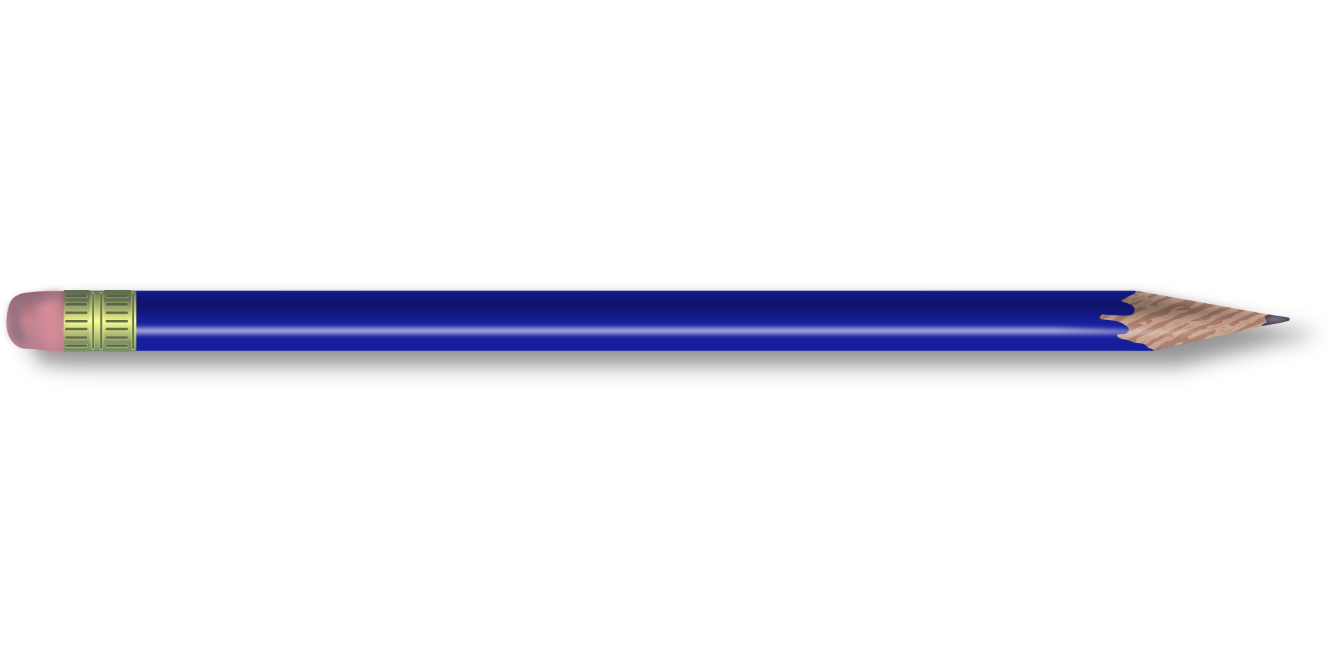 writing tool,blue pencil vector