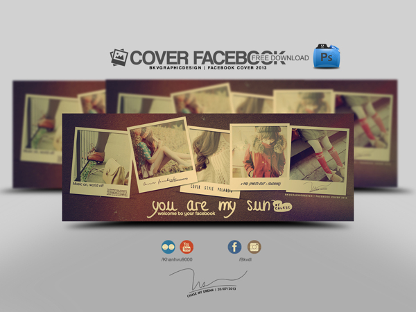 Free Facebook Timeline Cover PSD