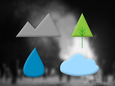 Free PSD-Weather Icons Design