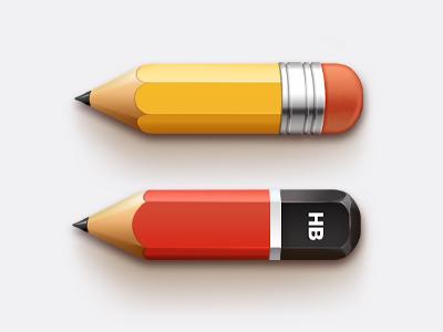 Free Pencils PSD