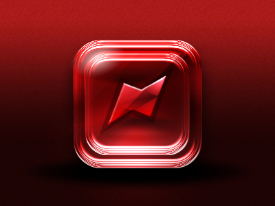Freebie-Red Interactive Ios Icon