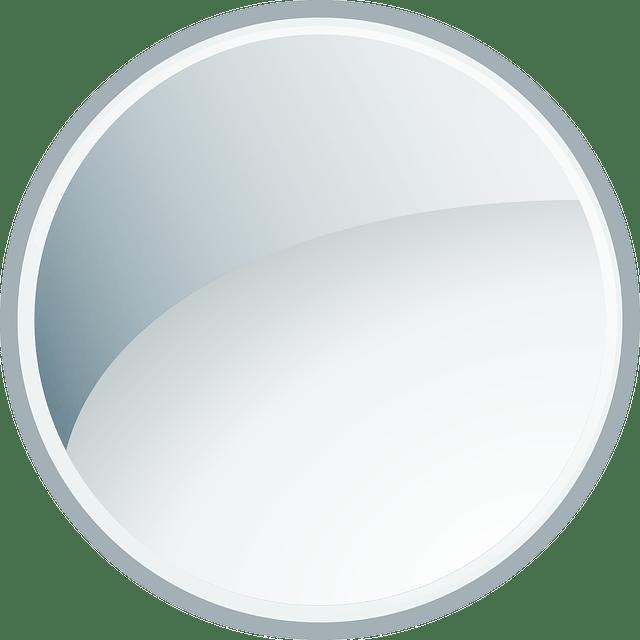 Gray circle - glass glossy vector
