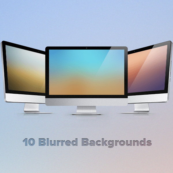 10 High-Resolution Blurred Backgrounds Images