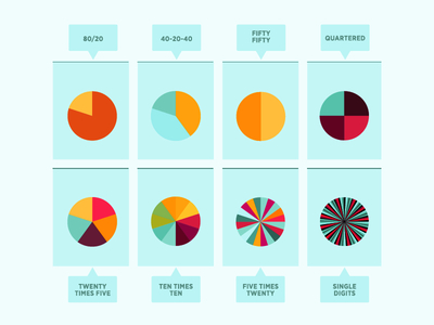 Free Pie Charts Icon Vector