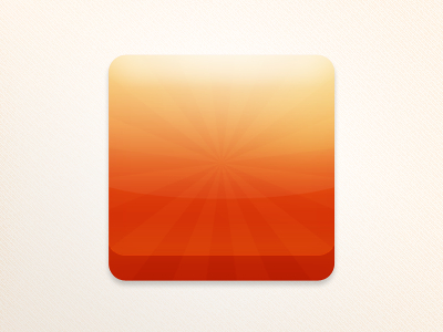Free mobile Application icon Template PSD