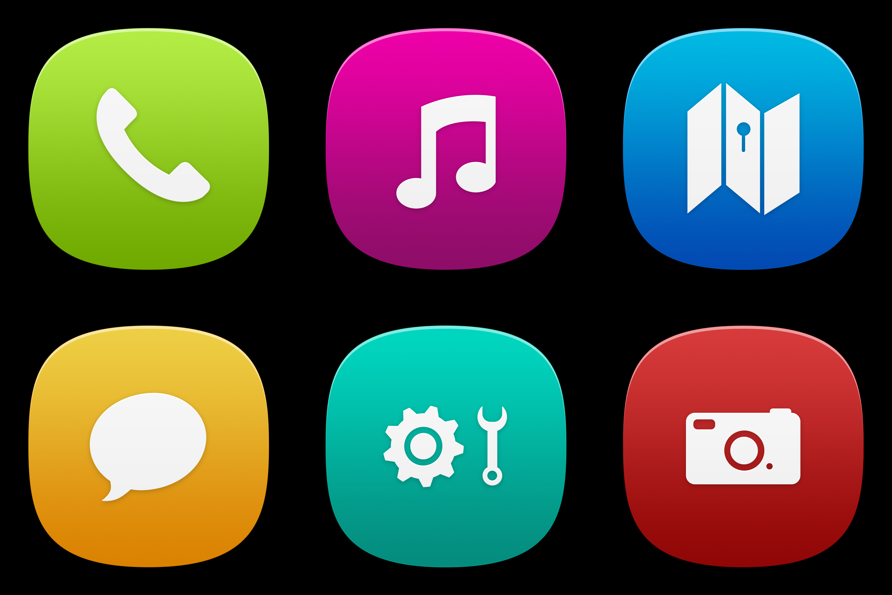 MeeGo Icons Pack -Free PSD